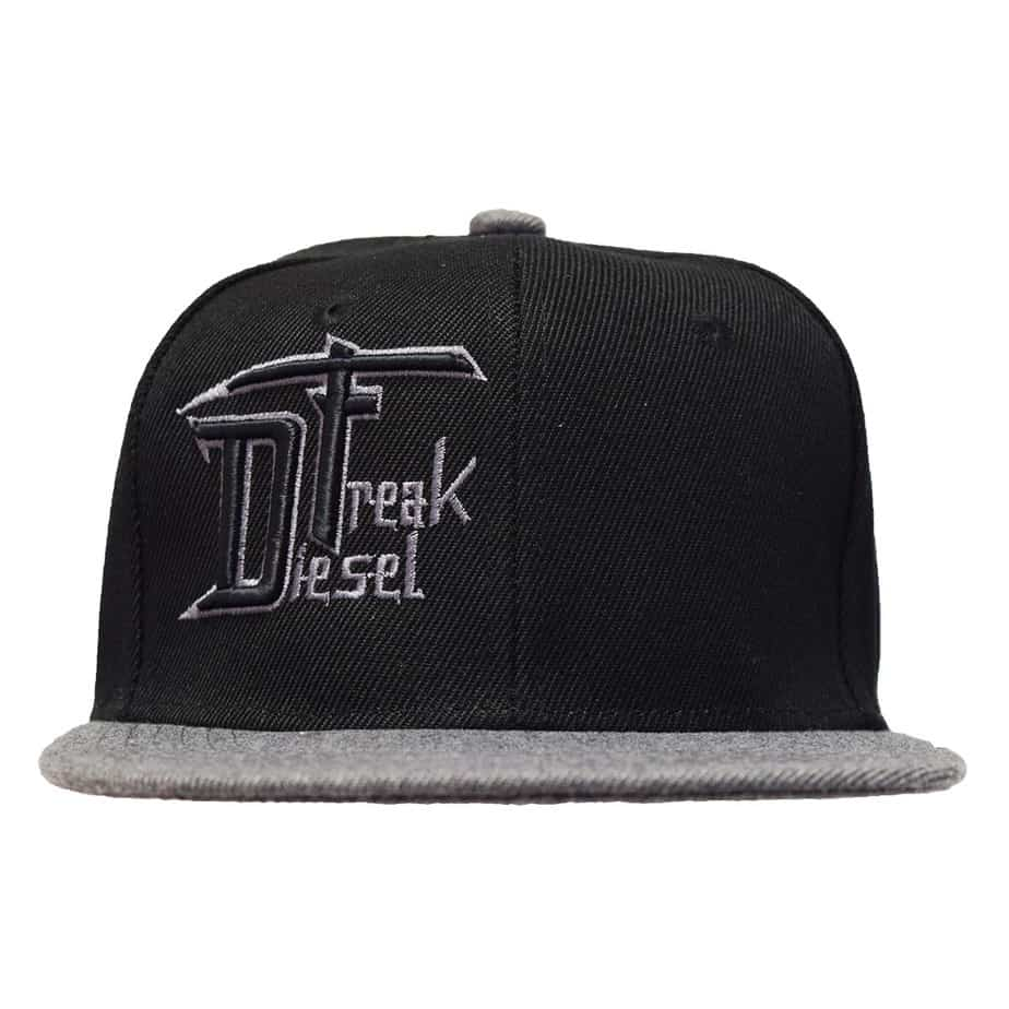 Black With Grey Brimmed Youth Hat - Diesel Freak 7698a739e42