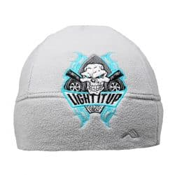 1234f86838ac73 Light It Up Teal and Grey Beanie