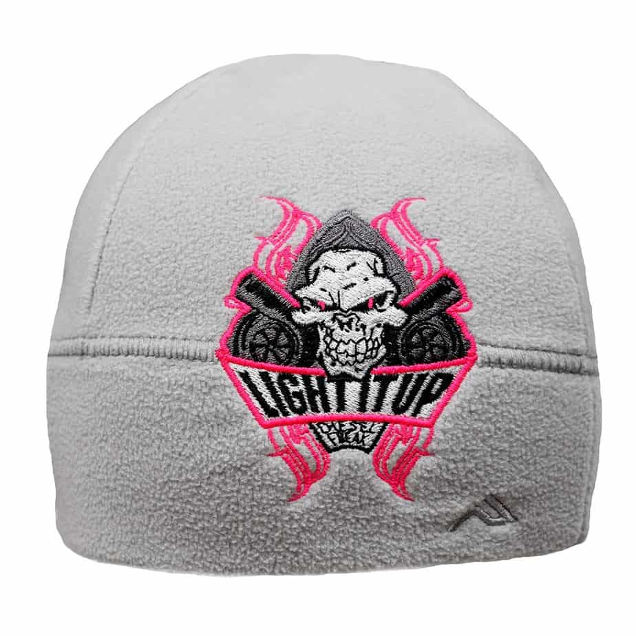 dc863843fc802e Light It Up Pink and Grey Beanie - Diesel Freak